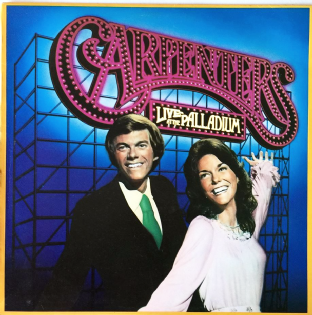 Carpenters ‎- Live At The Palladium (LP) (VG/VG++)